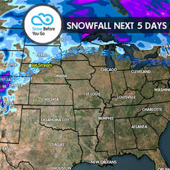 11.30 Snow Before You Go: Large Storm System for the West - ©Meteorologist Chris Tomer
