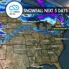 4.20 Snow Before You Go - ©Meteorologist Chris Tomer