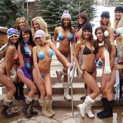 Aspen CO Hooters Bikini Fashion Show 16