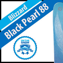 Blizzard Black Pearl 88: Women's 17/18 All-Mountain Front Editors' Choice Ski - ©Blizzard