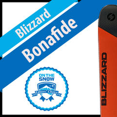 Blizzard Bonafide: Men's 17/18 All-Mountain Back Editors' Choice Ski - ©Blizzard