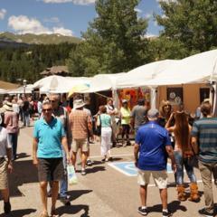 34th Annual Breckenridge July Art Festival - © Annual Breckenridge July Art Festival