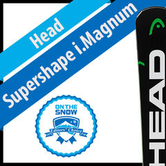 Head Supershape i.Magnum: Men's 17/18 Technical Editors' Choice Ski - ©Head