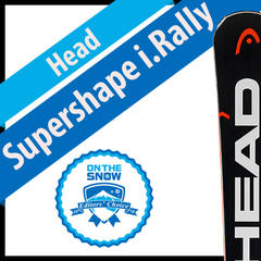 Head Supershape i.Rally: Men's 17/18 Frontside Editors' Choice Ski - ©Head