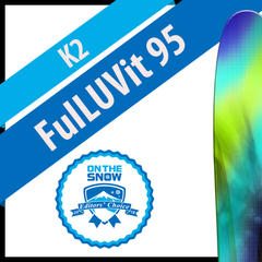 K2 FulLUVit 95: Women's 17/18 All-Mountain Back Editors' Choice Ski - ©K2