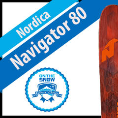 Nordica Navigator 80: Men's 17/18 Frontside Editors' Choice Ski - ©Nordica