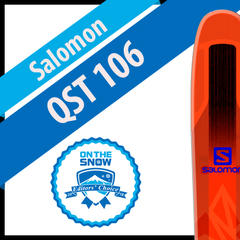 Salomon QST 106: Men's 17/18 Big Mountain Editors' Choice Ski - ©Salomon