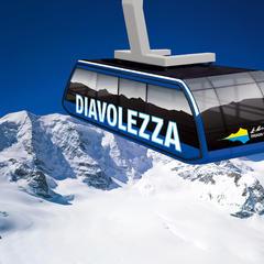 Modernisierung der Diavolezza Bahn
