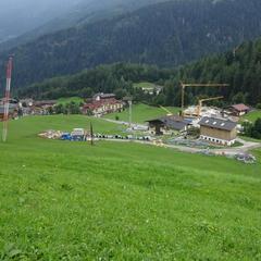 Stavební práce na nové lanovce Finkenbergbahn jsou v plném proudu - © BAUTAGEBUCH FINKENBERGER ALMBAHNEN I