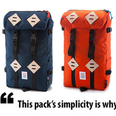 Gear in Review: Topo Designs Klettersack - ©topodesigns.com