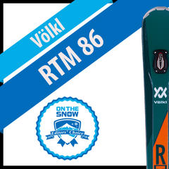 Völkl RTM 86: Men's 17/18 All-Mountain Front Editors' Choice Ski - ©Völkl