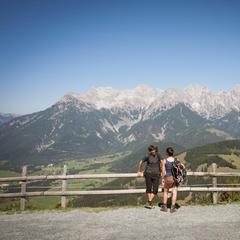 Výhled na pohoří Kaisergebirge - © Tirol Werbung