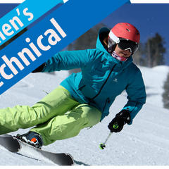 Women's Technical Ski Buyers' Guide 17/18 - ©Dan Campbell, courtesy of Masterfit Media