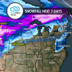 2.15 Snow Before You Go: Storm Cycle Reboots for West - ©Meteorologist Chris Tomer