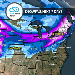 2.8 Snow Before You Go: 2-3 Storms in the Next Week - ©Meteorologist Chris Tomer