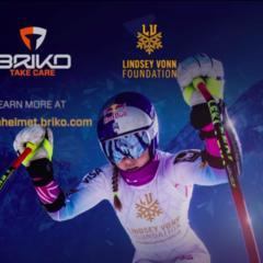 Briko: il casco di Coppa del Mondo è firmato Lindsey Vonn - ©Briko.com