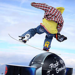 Les 2 Alpes snowpark, France