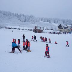 Zieleniec Ski Arena - styczeń 2018 - © Zieleniec Ski Arena