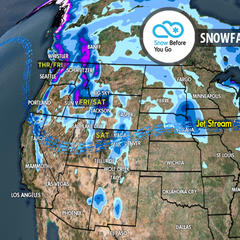 3.8 Snow Before You Go: Powerful Nor'easter & Heavy Powder - ©Meteorologist Chris Tomer