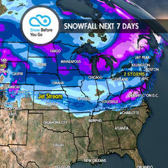 4.5 Snow Before You Go: Pineapple Express to Dominate West - ©Meteorologist Chris Tomer
