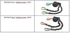 Für folgende Produkte führt SKYLOTEC ein Bandfalldämpfer-Upgrade durch - ©Skylotec