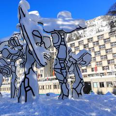 Flaine - Plan des pistes de ski Flaine