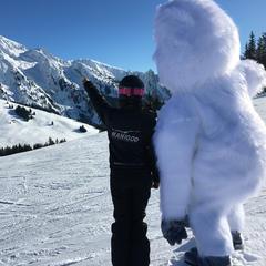 ski manigod mascotte