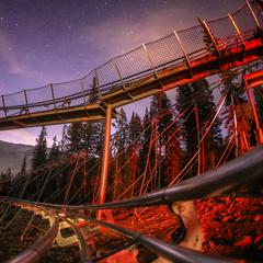 Copper coaster, night views - © Copper Mountain