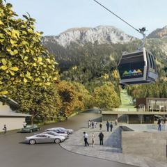 Grafik: So wird die neue Jennerbahn aussehen - © www.jennerbahn.de