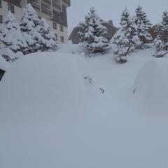Gallery: Big snowfalls in the Alps - ©Les Menuires/Facebook