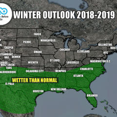 Winter 18/19 Long-Range Weather Forecast - ©Meteorologist Chris Tomer