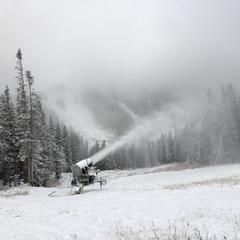 Colorado's Race to Open Gaining Speed - ©Dustin Schaefer, Loveland Ski Area