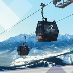 Nová kabinová lanovka v Bachledově dolině v Belianských Tatrách - © Bachledka Ski&Sun