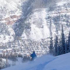 The Plunge at Telluride - © Visit Telluride/Ryan Bonneau