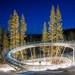 Snowmass Breathtaker Alpine Coaster night vision - © Aspen Skiing Company