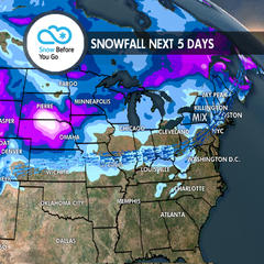 Multiple Storms & 1-3 Feet for Parts of West: 11.29 Snow B4U Go - ©Meteorologist Chris Tomer