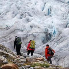 Gletscher Bergsteiger - ©DAV / Marco Kost