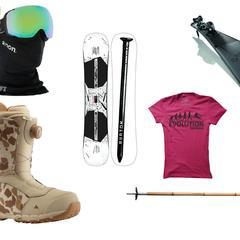 Lyžařské a snowboardové vybavení pod stromečkem je dobře načasovaný dárek e20fa66920