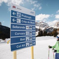 Italská zima 2019/2020: Co nového v lyžařských střediscích? - ©Alta Badia Facebook
