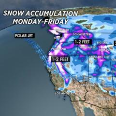 1.13 Snow Before You Go: 2-3 Foot Grand Totals Comin' Right Up - ©Meteorologist Chris Tomer