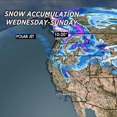 1.22 Snow Before You Go: Pacific Flow Equals Snow - ©Meteorologist Chris Tomer