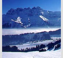 De grensoverschrijdende Portes do Soleil skiregio biedt maar liefst 650 km aan pistes