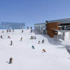 Bergstation Neubau Flying Mozart Gondelbahn - © Snow Space Salzburg Bergbahnen AG