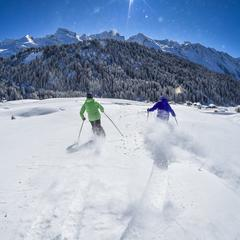 Skifahrer in Grand Bornand (FRA) - © Le Grand Bornand Réservation