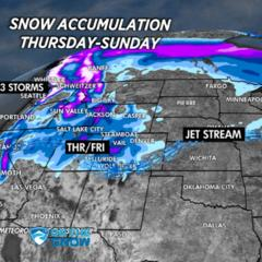 Snow Before You Go: Multiple Feet of Snow Headed West & East  - ©Meteorologist Chris Tomer