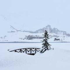 Big snowfalls on the way to the Alps - ©Tignes/Facebook