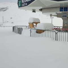 Stubai opens with great snow coverage 13/9/19 - © Facebook Stubaier Gletscher