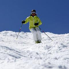Expertin Tatjana Mittermayer gewann 1998 in Nagano Silber in der Buckelpiste. Bereits 1988 war sie Weltmeisterin. - ©Tatjana Mittermayer