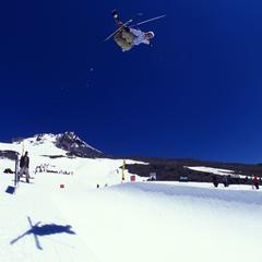 Timberline Lodge OR summer skier