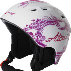 Skihelm van Atomic met hippe look - ©Atomic
